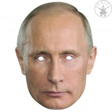 Vladimír Putin - kartónová maska pre dospelých