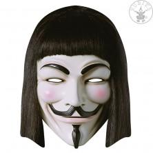 V for Vendetta - kartónová maska pre dospelých
