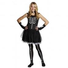 Kostým Teenie Skelett 32