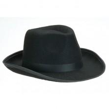 Pánsky čierny klobúk