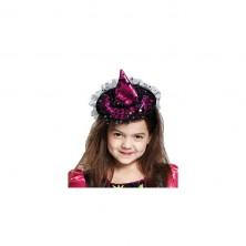 Čarodejnícky klobúčik na spone