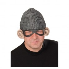 Gangsterská čiapka s maskou