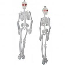 Závesné kostry fluoreskujúce 2 ks