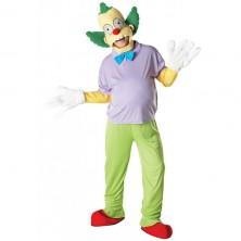 Krusty the Clown Adult Deluxe - licenčný kostým