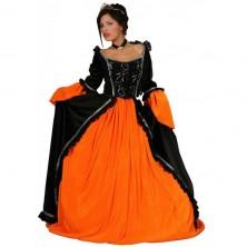 Kostým čierna princezná