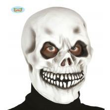 Latexová maska SMRTKA biela