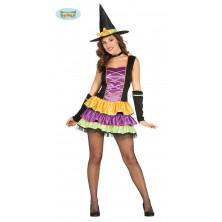 Farebná čarodejnice - kostým