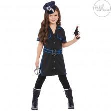Policajná dievčina - detský kostým