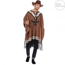 Deluxe poncho s byvolom