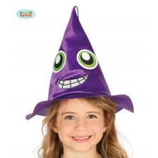 Detský čarodejnícky klobúk fialový