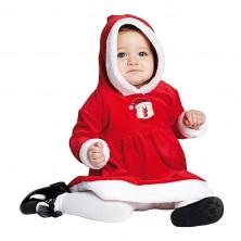 Detský kostým Miss Santa