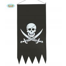 Pirátska vlajka 43 x 86 cm