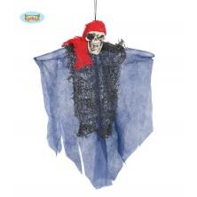 Pirát - závesné strašidlo 30 cm