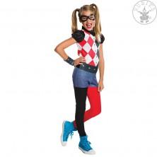 Harley Quinn DC deluxe detsky kostým