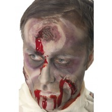 Imitácia rany na hlave