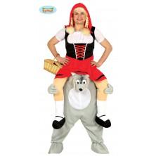 Čiapočka na vlkovi - kostým