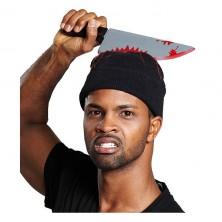Čiapka s nožom - Halloween