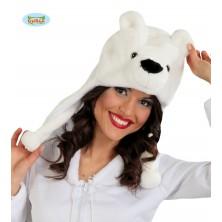 Čiapka ľadový medveď