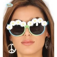 Okuliare Hippie s margarétkami