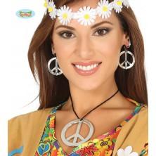 Hippie náhrdelník a náušnice