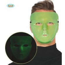Maska zelená fluoreskujúce