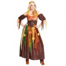 Jesenná víla - kostým