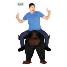Nesúci gorila - kostým