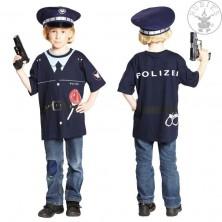 Tričko POLÍCIA - detský karnevalový kostým