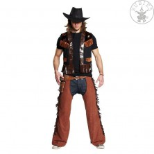 Kovbojská vesta čierna