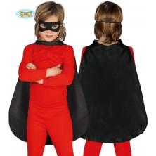 Čierny detský plášť 55 cm