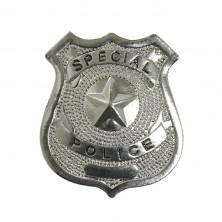 Policajný odznak kovový