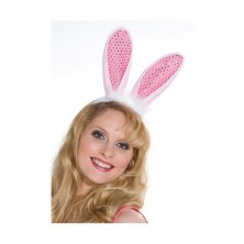Zajac uši flitrové