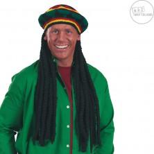 Reggae - čiapka s dredy