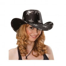 Kovbojský klobúk s hviezdami
