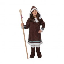 Eskimácka dievča - kostým