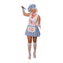 Kuchárka - Horror kostým pre dospelých