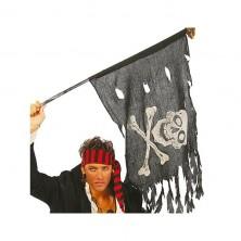 Pirátska vlajka 122 x 60 cm