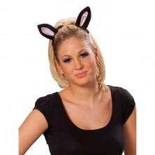 Mačacie uši na spone