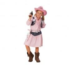 Cowgirl rosa - detský karnevalový kostým