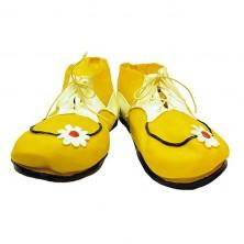 Latexové topánky klaunské detské