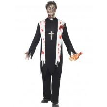 Kostým zombie farár