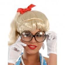Okuliare sekretárka
