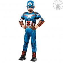 Captain America Avengers Assemble Deluxe- dětský