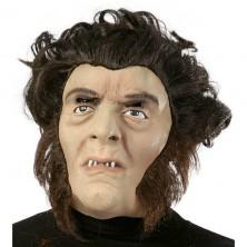 Muž s vlasmi maska