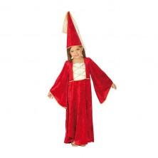 Zámocká pani s klobúkom - detský karnevalový kostým