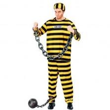 Väzeň pruhovaný žltý
