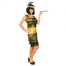Charleston šaty zlatej veľ. 42-44