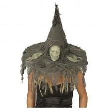 Čarodejnícky klobúk s lebkou