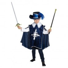Mušketier - modrý