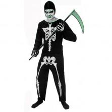 Smrtka - karnevalový kostým veľkosť 52 - 54